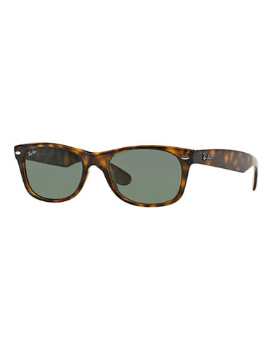 Ray-Ban 55mm Square Wayfarer Sunglasses-LIGHT TORTOISE-55 mm