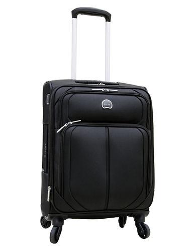 Delsey Delsey Charger 18-Inch Suitcase-BLACK-18