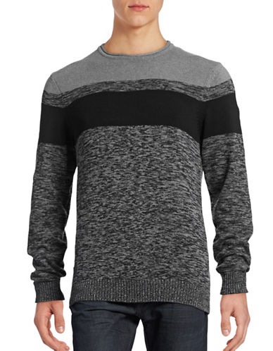 Point Zero Space Dye Roll Sweater-GREY-Medium 88739138_GREY_Medium