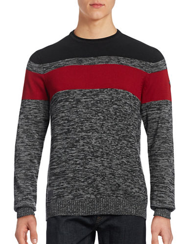 Point Zero Space Dye Roll Sweater-BLACK-X-Large 88739144_BLACK_X-Large