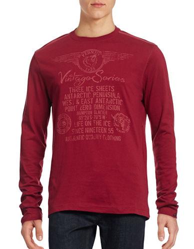 Point Zero Long Sleeve Jersey Graphic T-Shirt-CRIMSON-Medium 88642394_CRIMSON_Medium