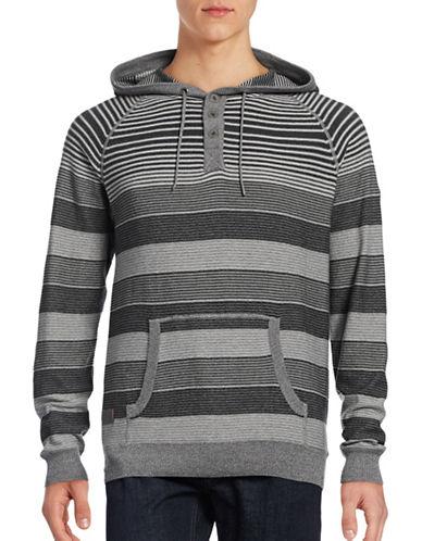 Point Zero Fine Gauge Hooded Sweater-GREY-Large 88739162_GREY_Large