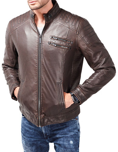 Point Zero Moto Jacket-BROWN-Large 88519007_BROWN_Large