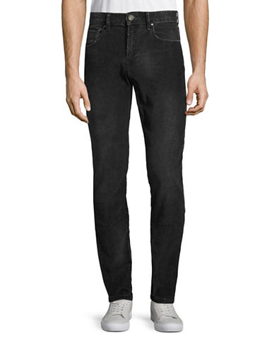Point Zero Sean Stretch Corduroy Pants-BLACK-38