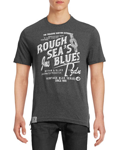 Point Zero Rough Seas Graphic T-Shirt-CHARCOAL-X-Large 88395301_CHARCOAL_X-Large