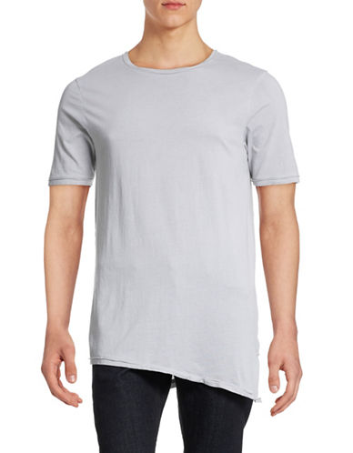 Mattson Spray Wash Asymmetrical Tee-GREY-Large 88391413_GREY_Large