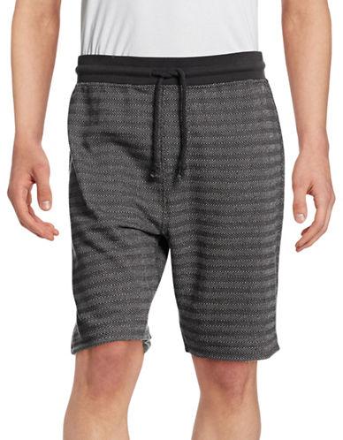 Mattson Reversible Jacquard Shorts-GREY-Medium 88391937_GREY_Medium
