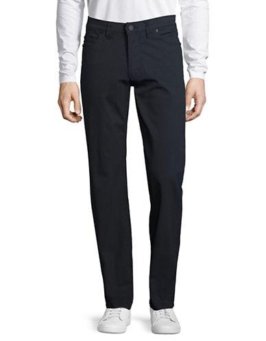 Point Zero Regular Fit Dot Print Pants-NAVY-34 88949523_NAVY_34