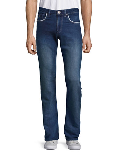 Point Zero Sam Low Slim-Fit Hybrid Sweat Jeans-BLUE-34