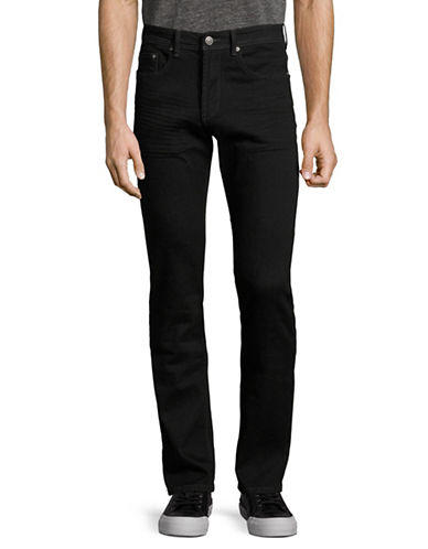Point Zero Modern Fit Jeans-BLACK-40X32