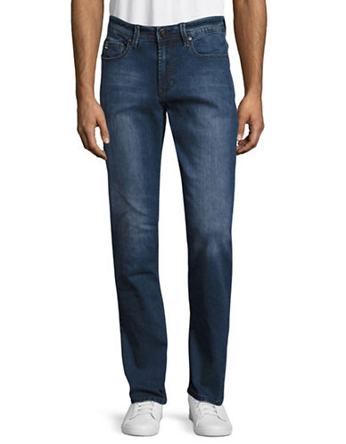 Point Zero Modern Fit Jeans-BLUE-38X34