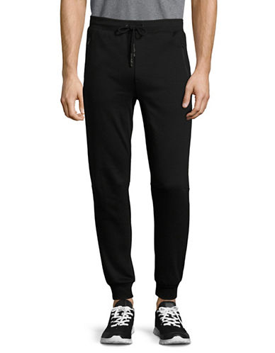 Point Zero Neoprene Jogger Pants-BLACK-Large 89069740_BLACK_Large