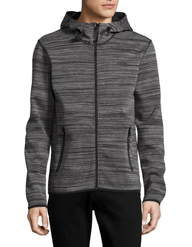 Point Zero Space Dye Soft Shell Hoodie-BLACK-Large 89069730_BLACK_Large