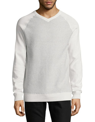 Point Zero Reversible Cotton Sweatshirt-NATURAL-X-Large