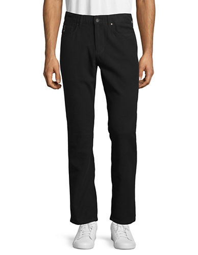 Point Zero Rebound Stretch Pants-BLACK-30
