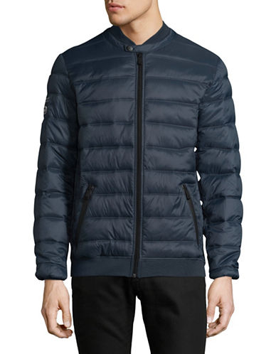 Point Zero Ultralight Quilted Jacket-BLUE-Small