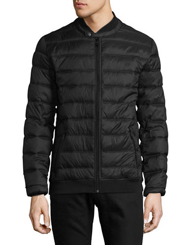 Point Zero Ultralight Quilted Jacket-BLACK-Small