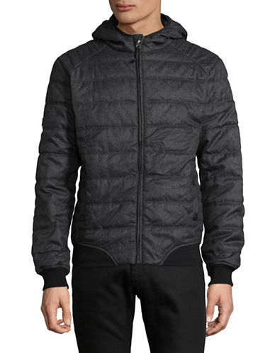 Point Zero Packable Quilted Jacket-BLACK-Medium