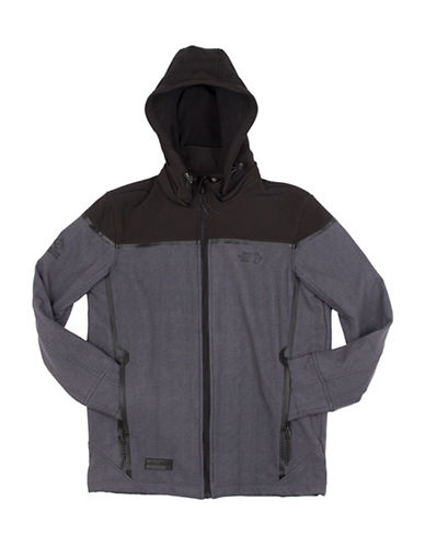 Point Zero Soft Shell Jacket-BLACK-Medium