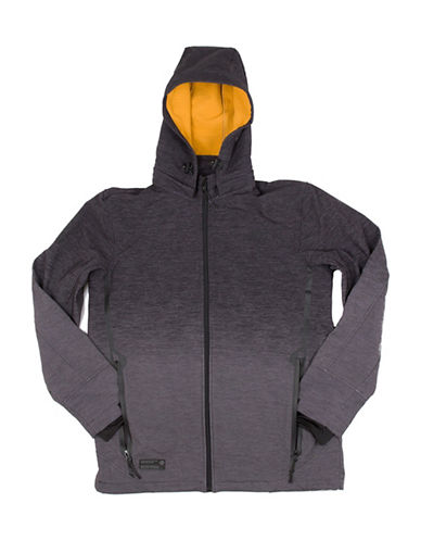Point Zero Soft Shell Jacket-GREY-X-Large