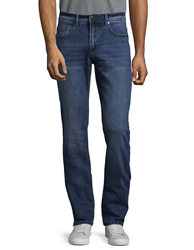 Point Zero Modern Fit Jeans-BLUE-32X34