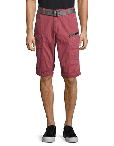 Point Zero Adjustable Length Shorts-RED-38