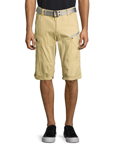 Point Zero Adjustable Length Shorts-BEIGE-31