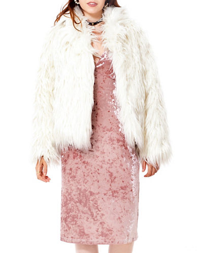 California Moonrise Faux Fur Jacket-WHITE-Large 89658874_WHITE_Large