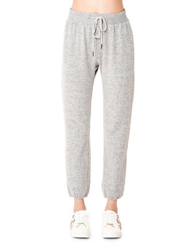 California Moonrise Brushed Knit Jogger Pants-GREY-Small 89530585_GREY_Small