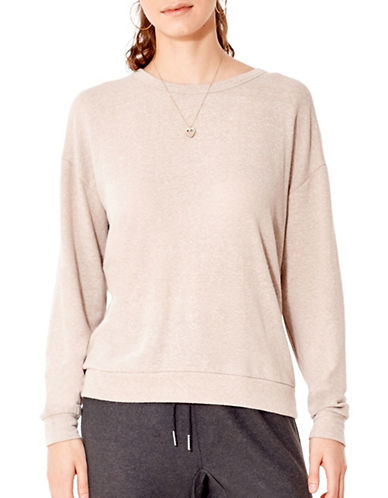 California Moonrise Light Terry Knit Sweatshirt-PINK-Small