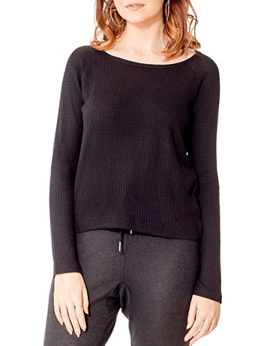 California Moonrise Roundneck Top-BLACK-Medium