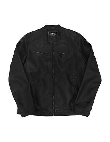 Point Zero Quilted Biker Jacket-BLACK-Small 89859751_BLACK_Small