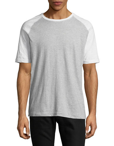 Point Zero Textured Jersey Tee-WHITE-X-Large