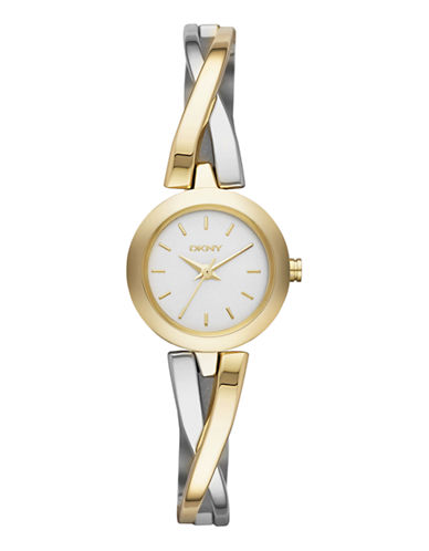 Dkny DKNY Two Tone Stainless Steel Watch-TWO TONE-One Size