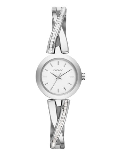 Dkny DKNY Silver Stainless Steel Watch-SILVER-One Size