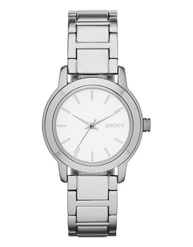 Dkny Womens Standard Silver Watch-SILVER-One Size