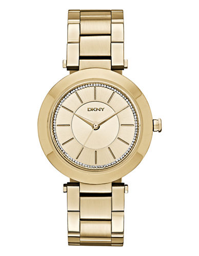 Dkny Womens Stanhope Gold-tone Watch NY2286-GOLD-One Size