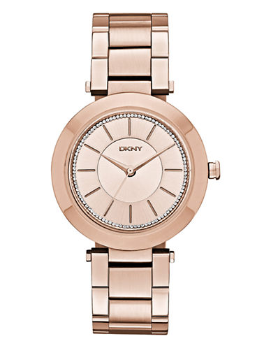 Dkny Womens Stanhope Rose Gold-tone Watch NY2287-ROSE GOLD-One Size