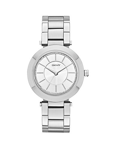 Dkny Womens Stanhope Silver-tone Watch NY2285-SILVER-One Size