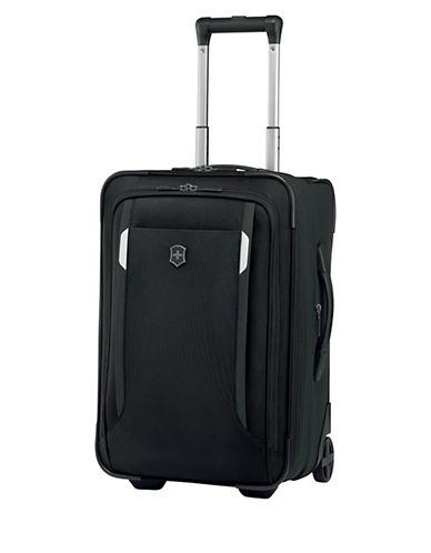 Victorinox Werks Traveller 20 Inch Suitcase-BLACK-20
