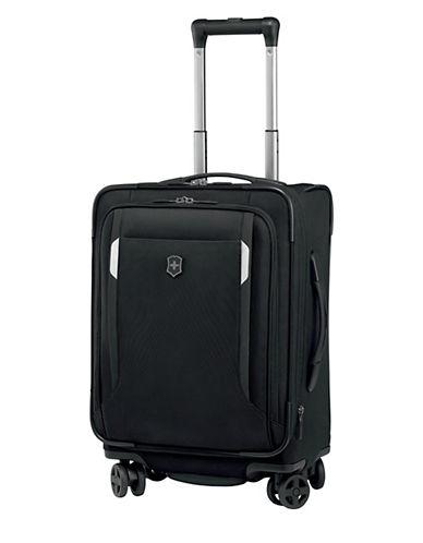 Victorinox Werks Traveller 20 Inch Dual Caster Suitcase-BLACK-20