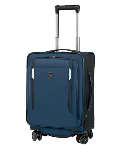 Victorinox Werks Traveller 20 Inch Dual Caster Suitcase-NAVY BLUE-20