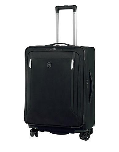 Victorinox Werks Traveller 24 Inch Dual Caster Suitcase-BLACK-24