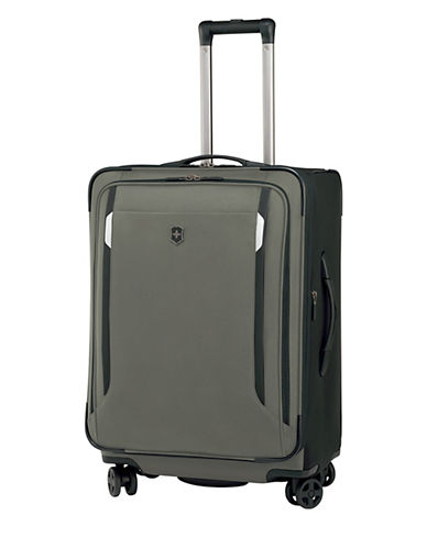 Victorinox Werks Traveller 24 Inch Dual Caster Suitcase-OLIVE-24
