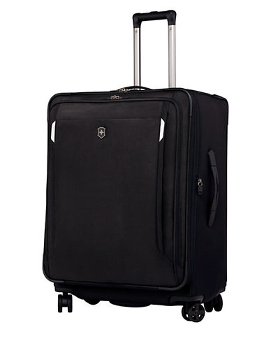 Victorinox Werks Traveller 27 Inch Dual Caster Suitcase-BLACK-27