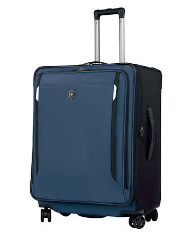Victorinox Werks Traveller 27 Inch Dual Caster Suitcase-NAVY BLUE-27