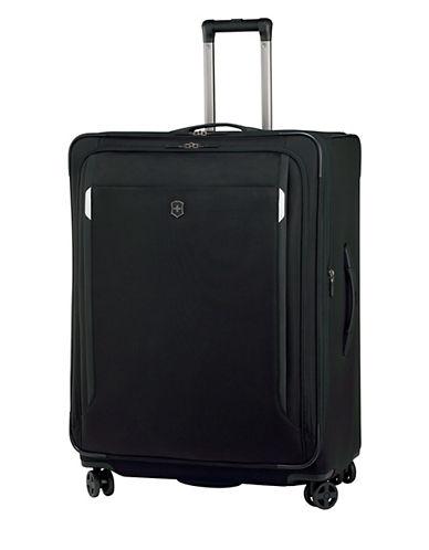 Victorinox Werks Traveller 30 Inch Dual Caster Suitcase-BLACK-30