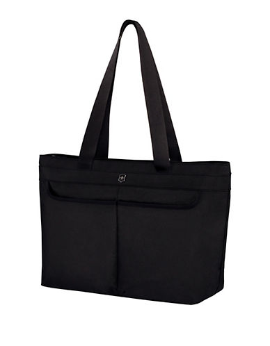 Victorinox Werks Traveller Shopping Tote-BLACK-One Size