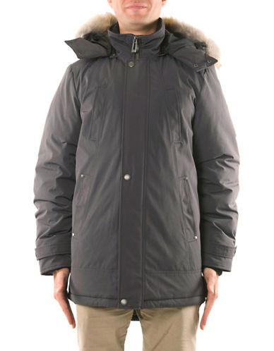 Company Of Adventurers Essential Down-Filled Parka-DARK.GREY-Small