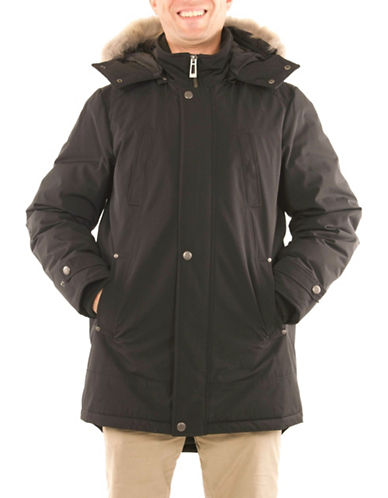 Company Of Adventurers Essential Down-Filled Parka-BLACK-Large
